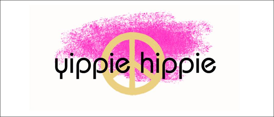 Yippie Hippie Banner